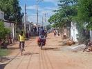 Abseits des Highways fahren wir auch durch kleine Dörfer